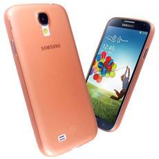 Cover Custodia Brinata Ultra Slim Tpu - Arancio - Samsung Galaxy S4