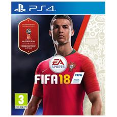 ELECTRONIC ARTS - PS4 - Fifa 18 (Aggiornamento a FIFA World CUP Russia 2018 incluso)