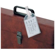 conf. 10. Portanomi Travel. trasparente 5.8x8.3cm 486666