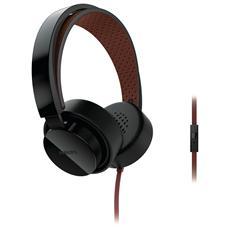 Cuffie ad Archetto SHL5205BK + Microfoni colore Nero