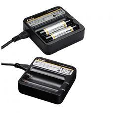 Caricabatterie per batterie ricaricabili 18650 Li-ion