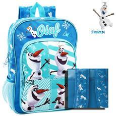 096ce4a7f0 MEDIAWAVESTORE - 4342351 Zaino A Spalla Scuola Olaf Cartella Scuola Frozen  Disney 27 X 38 X 14 Cm
