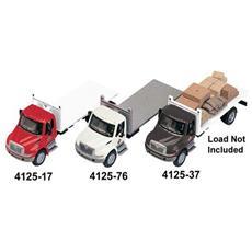 4125-17 Camion 4300 2 Assi Cassone Piatto Modellino