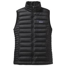 W's Down Sweater Vest Gilet Outdoor Donna Taglia M