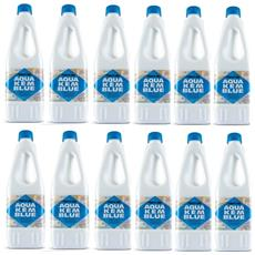 Offerta 12 Bottiglie Disgregante Di Aqua Kem Thetford Da 2 Litri - Liquido Serbatoio Aque Nere Camper Wc