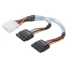 Molex 4-p / SATA 15-p, Multi