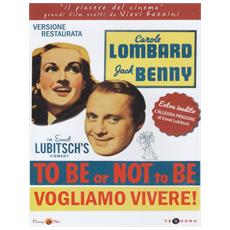 Dvd To Be Or Not To Be - Vogliamo Vivere