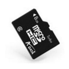 MicroSD da 8 GB Velocità di Classe 4 MB / s + Adattore SD