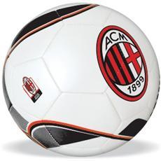 Pallone di Cuoio da Calcio misura 5 Milan Grammi 300 13276