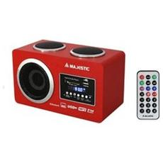 RADIO MULTIMEDIALE BT USB SD AUX C / TEL RED