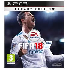 PS3 - Fifa 18 Legacy Edition