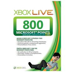 X360 - Live Point 800 Punti Card Sleeved