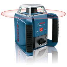 GRL 400 H Professional, 2 x 1.2-V-HR20 (D) (9 Ah) , 2 x 1.5 V LR20 (D) , 180 x 190 x 170 mm, 1,8 kg