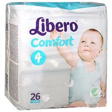 Mis. 4 Comfort 7-14kg 26 Pannolini
