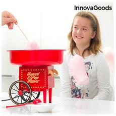 Macchina Per Zucchero Filato 500w Rossa