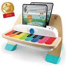 Baby Einstein Hape Magic Touch Piano, Giocattolo Musicale In Legno, Include 3 Spartiti E 6 Canzoni, A Partire Da 12 Mesi
