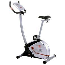 Cyclette per Fitness Nera e Argento 1205