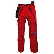 Pantaloni Unisex sportivi 4CENTO 403 Sci Size XXL Col. Red