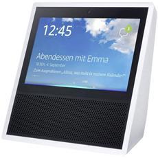 Mediaplayer Echo Show con Alexa integrato Wi-Fi Bluetooth Bianco