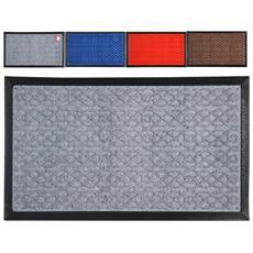 Tappeto Polipropilene / gomma Colori Assortiti 40x70 5mm Pulizia E Sistemazione