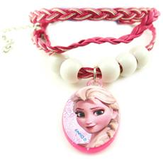 'french touch' bracciale 'frozen - ' rosa - [ n0464]