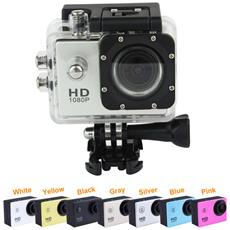 Helmet Sports Dv 1080p Full Hd H. 264 12mp Action Camera Impermeabile 30mt