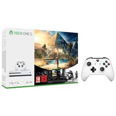 MICROSOFT - Console Xbox One S 1 Tb + Gioco Assassin's Creed Origins + Rainbow Six Siege + 2^ Controller...