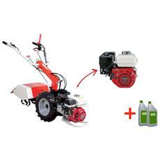 Motocoltivatore A Benzina Mc 202 Hx2 Con Motore Honda Gx200 6,5hp