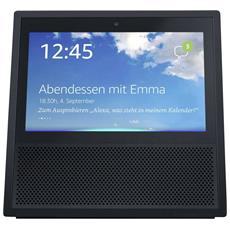 Mediaplayer Echo Show con Alexa integrato Wi-Fi Bluetooth Nero