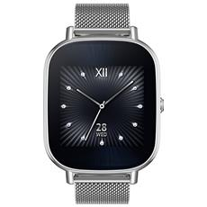 "Smartwatch ZenWatch 2 WI502Q Resistente all'Acqua IP67 Display 1.45"" 4GB WiFi / Bluetooth con Contapassi Argento - Europa"