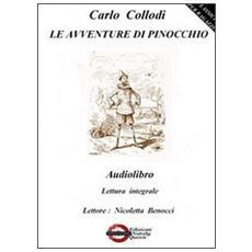 Le avventure di Pinocchio. Audiolibro. CD Audio formato MP3