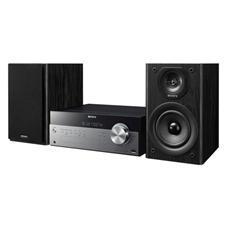 Sistema Micro Hi-Fi CMT-SBT100 Lettore CD / MP3 Potenza 50 Watt Colore Nero / Argento