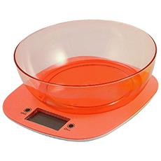2405727 Bilancia Cucina Digitale 5 Kg Assortita, Arancione / giallo / verde / fucsia