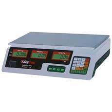 Bilancia Digitale Portata Kg 35 'yz-208c' 6v- C / cal - Keyman