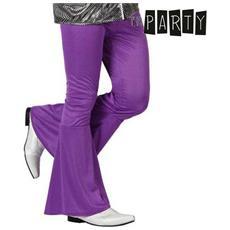 Pantalone Per Adulti Th3 Party Disco Viola Xs / s