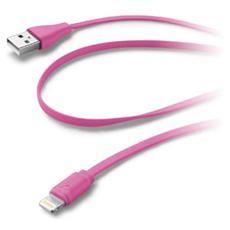 Cavo Dati USB / Lightning per sincronizzazione e ricarica - Rosa