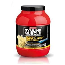 Gymline muscle 100% whey protein concentrate 700g vaniglia