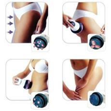 Anticellulite Massaggiatore Lipomodellante Testine Rotanti Massaggio Tonificante