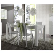 Tavolo Moderno Di Design Amalfi 160x90