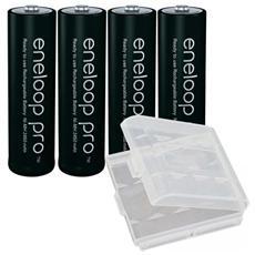 Batterie Ricaricabili Eneloop Pro Ministilo Aaa 930mah
