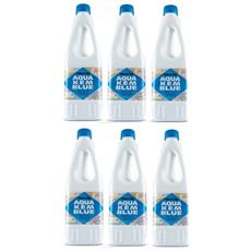 Offerta 6 Bottiglie Disgregante Di Aqua Kem Thetford Da 2 Litri - Liquido Serbatoio Aque Nere Camper Wc