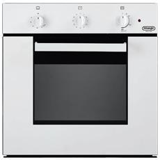 De longhi nfgb 4 serie flat forno a gas da incasso multifunzione con grill colore bianco eprice - Forno a incasso a gas ...