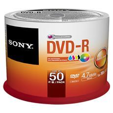 Dvd-r Printable 16x Spind. 50 Pz