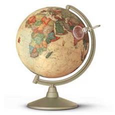 globo geografico illuminato marco polo ø 30cm novarico