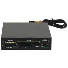 "Anima ACR1, 8, 89 cm (3.5"") , USB 2.0, Nero, 105g, 100 x 95 x 25 mm"