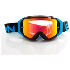 Maschera Top Nero / light Blue Fluo Dirt