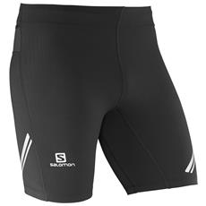 Pantaloncino Running Uomo Agile Short Tight Nero Xl