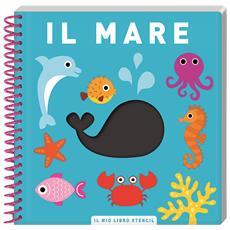 Libro-Stencil Il Mare