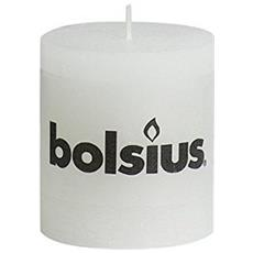 103868020302 Cilindro Bianco 1pezzo (i) candela di cera