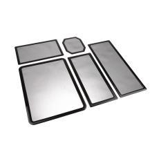 Staubfilter Set für Corsair 500R - schwarz / schwarz